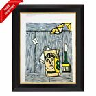 Roy Lichtenstein - Trompe I´Oeil with Léger, Original Hand Signed Print with COA