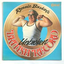 RONNIE BARKERS Unbroken British Record 1978 Vinyl LP (TWO RONNIES) NM/NM