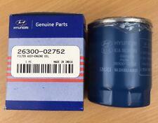 Genuine Hyundai i10 i20 1.2 Petrol Engine Oil Filter 2630002752 (26300-02752)