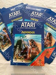 "Atari 2600 VCS ""Defender "" Cartridge EMPTY BOX ONLY New Superb"