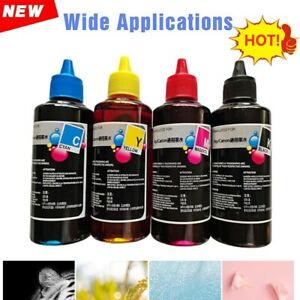 100ml Color Ink Cartridge Refill Replacement Kit For HP&Canon Series Printers UK