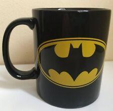 BATMAN The DARK KNIGHT DC Comics Superhero 12 oz Black CERAMIC COFFEE MUG