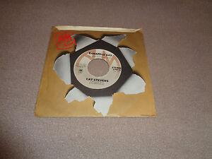 "Cat Stevens – Banapple Gas - A&M 7"" Vinyl 45 - 1975 - NM"