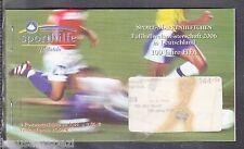 A 30 ) BRD Germany Sport Markenheftchen 2004 ESST Berlin - 100 Jahre Fifa