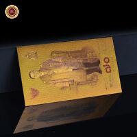 WR Thaïlande ฿ 70 THB Souvenirs commémoratifs de couleur billets de banque