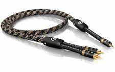 15, 00 m Viablue NF-S1 Plata Quattro Clavija Cable Rca 15,0 m 15m (1 pza)