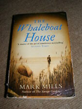 The Whaleboat House by Mark Mills PB murder mystery novel            AA
