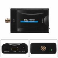 BNC zu HDMI Videokonverter Adapter 1080P/720P mit Audio für CCTV HDTV Kamera RF