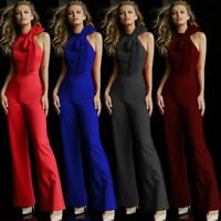 Womens Cocktail Sexy Jumpsuits Pants Romper Overall Bodysuit Casual Playsuit