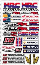 Honda CBR RR aufkleber set decal 27x47 cm blatt 34 sticker HRC Repsol fireblade