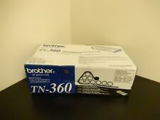 Brother TN-360 TN360 Black Toner Cartridge HL-2140 Genuine New Sealed Box