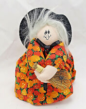 Crafty Lady Fullerton Halloween cute witch kerr mason jar topper cover figure