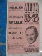 WHYN 56 Springfield MA Radio Music Survey Oct 11 1969  Dionne Warwick #1
