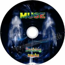 MUSE GUITAR BACKING TRACKS CD BEST GREATEST HITS MUSIC PLAY ALONG MP3 ROCK