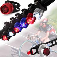 Cyclisme Bicyclette VTT Eclairage Lampe Vélo Casqu Feu Arrière LED Phare Lumière