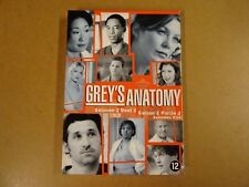 4-DISC DVD / GREY'S ANATHOMY - SEIZOEN 2 - DEEL 2 ( EPISODES 9 -14 )