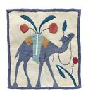 Egyptian Revival Textile featuring a camel