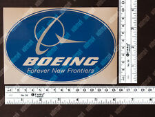 OVAL DIECUT BOEING LOGO DECAL / STICKER 6 x 4 in / 15 x 10 cm