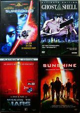 SCIENCE FICTION DVD-Paket (Ghost in the Shell/Sunshine/Supernova) SciFi Sammlung