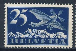 "1923 Switzerland MNH OG Airmail stamp ""Monoplane"" Michel #180, nice"