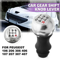 Pommeau Levier de 5 Vitesse R rouge Manuel pour Peugeot 106 206 306 406 207