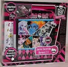 diario paura 2.0 monster high fearbook diary journal tagebuch mattel 2011 V1137