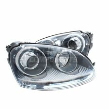 VW Golf Mk5 Gti & GTD Hatchback 2003-6/2009 Xenon Headlights Headlamps 1 Pair