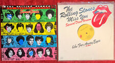 ROLLING STONES - SOME GIRLS LP 1978 US COC 39108 Promotone + MISS YOU 12' VINYL