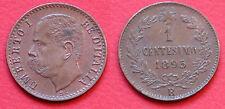 MONETA COIN REGNO D'ITALIA RE UMBERTO I° SAVOIA - UN CENTESIMO 1895 - ROMA  #1