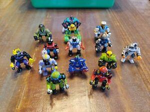 Huge Vintage Galoob ZBots Figure Lot Z-Bot Soldiers!