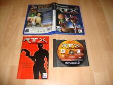 RTX RED ROCK DE LUCASARTS PARA LA SONY PLAY STATION 2 PS2 USADO COMPLETO