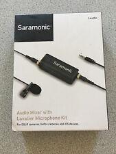 Saramonic Lavmic Premium Lavalier w/Mixer Dslrs, GoPro, Smartphone - Free Ship