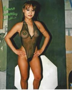 Kimona Wannalaya autographed 8x10   ECW WCW  #4