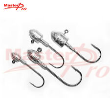 20 X Hook Size 2/0 Jig Heads High Chemically Sharpened Hooks Fishing Tackle