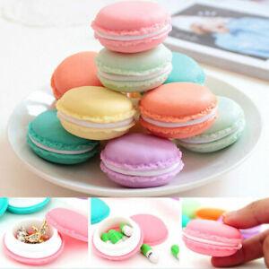 Chic Candy Color Macaron Mini Storage Box Jewelry Box Pill Caset3