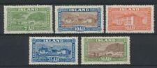 Iceland #144-148 Landscapes and Buildings, set of 5, mint (TP00021)