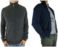 Herren-Pullover & -Strickware aus Baumwolle mit Stehkragen und Reißverschluss