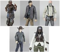 "Walking Dead Series 7 5"" Action Figures - Carl Michonne Gareth Zombie McFarlane"