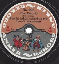 Lied aus Wien- aus dem Dreimäderlhaus von Schubert - Anker-Rekord von 1912