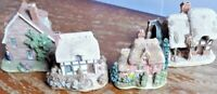 LILLIPUT LANE COLLECTABLES - MINIATURE HANDMADE COTTAGES ENGLAND & WALES VARIOUS