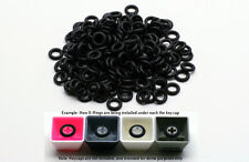Cherry MX Keycap Rubber O-Ring Dampeners 50A 0.4mm Reduction 130 pcs