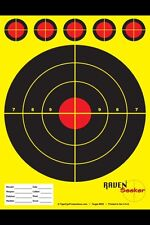 Shooting Target 100 PACK YELLOW Perfect For Range Sniper Air Soft Paper Target