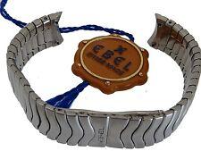 EBEL SPORT CLASSIC Bracciale da donna-Band Bracelet Acciaio/Acciaio 15 mm impulso