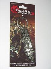 """Gears of War 3 Metal """"Retro lancer"""" Keychain / Schlüsselanhänger Very Rare"""