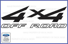 1997 <-> 2010 Ford F250 F350 Super Duty 4x4 Off Road Decal Set stickers bed side