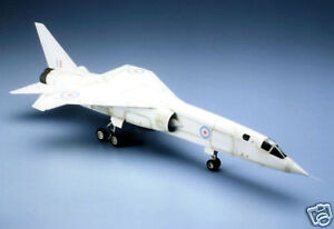 Large 1/10 Scale British BAC TSR-2 DF/Turbine Plans and Templates 43ws