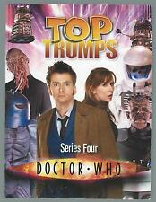 Doctor Who Top Trumps Series Four Moray Laing Haynes 2008 Paperback G+ Condition