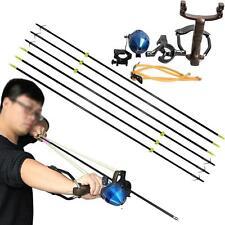 Hunting Catapult Fishing Slingshot Archery Slingbow Shooting Fiberglass Arrows