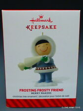 Frosting Frosty Friends 2014 NEW HALLMARK KEEPSAKE ORNAMENT MIB