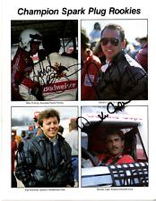 1985 NASCAR rookies original hand signed autographed photo